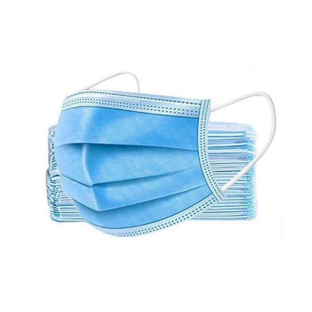 Level 1 - 3-ply Disposable Face Mask - Blue - Pack of 50