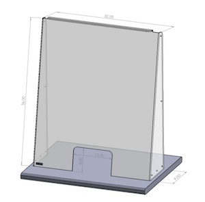 Safety Barriers - Reception Barriers - With Opening