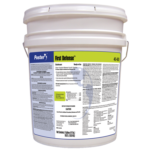 Disinfectant Germicidal Cleaner - First Defense - 1 Pail