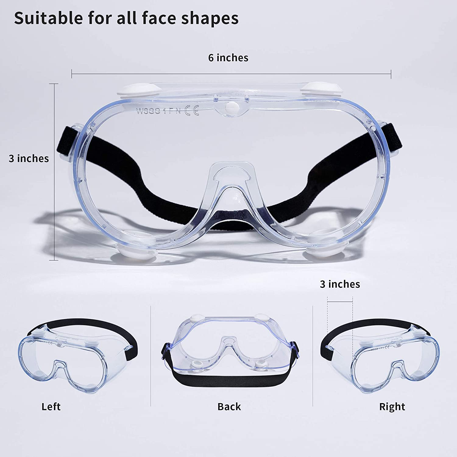 Protection Goggles - Pack of 10