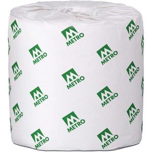 Metro Paper 2 Ply Bathroom Tissue - Pack of 48